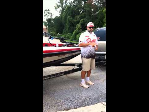 Summer Bass Fishing at Lake Guntersville
