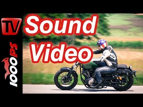 Soundvideo | Yamaha XV950R- V2 Sound