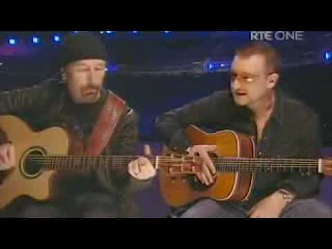 The Edge and Bono U2 - Van Diemens Land - Live Dublin Dec 08