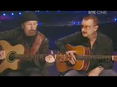 The Edge and Bono U2 - Van Diemens Land - Live Dublin Dec 08