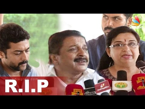 Sivakumar crying on the death of Director AC Thirulogachander | Surya, Sneha, Vairamuthu Speech