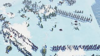 Battling the Brutal Cold in Evacuation | Age of Empires III Gameplay