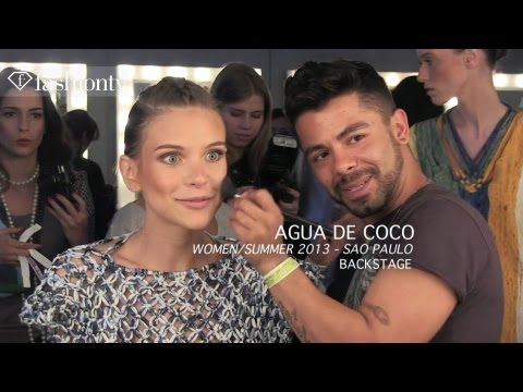 Swimwear Models Backstage at Agua de Coco Spring/Summer 2013 | Sao Paulo Fashion Week | FashionTV