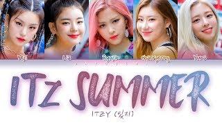 Download lagu ITZY (있지) - IT'z SUMMER (Color Coded Lyrics Eng/Rom/Han/가사)