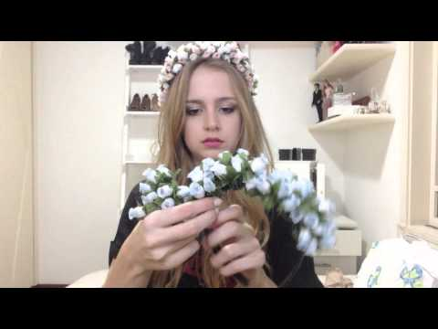 Tutorial: Tiara De Flores Estilo Lana Del Rey video