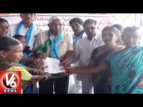 Prof Kodandaram Visits Yadadri Bhuvanagiri Dist, Slams TRS Govt On Rythu Bandhu Scheme | V6 News