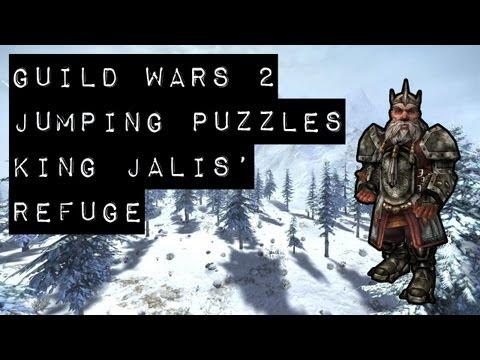 Guild Wars 2 Puzzle Achievements - King Jalis' Refuge