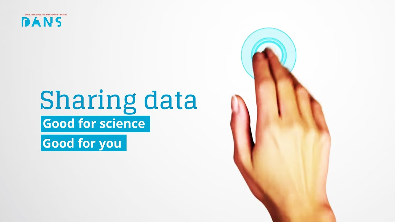 Sharing data: good for science, good for you