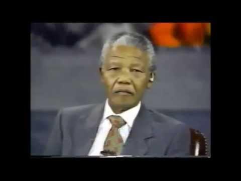 Nelson Mandela on Palestine (1990)