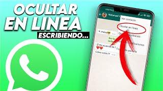 Como Ocultar EN LINEA Y ESCRIBIENDO de WhatsApp SIN ROOT 2018   ANDROID STUDIO