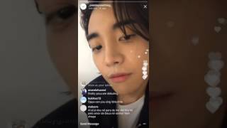 ONE Instagram Live 170711 - Debut Day