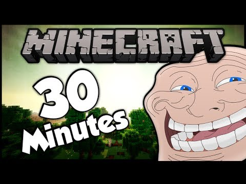 Minecraft: Trolling Little Kids! (30+ Minute Compilation - #1-7)