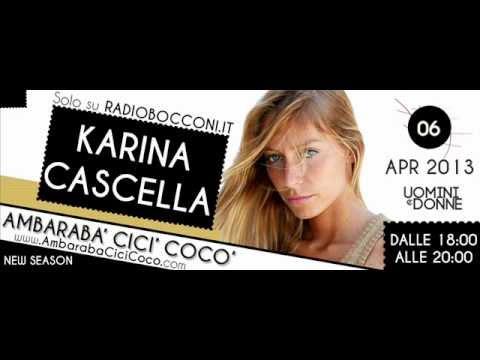 """Ambarabà Cicì Cocò, intervista a """"KARINA CASCELLA"""" !"""