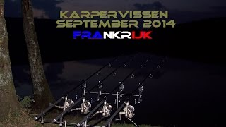 Karpervissen in frankrijk september 2014 - Carp angling in france (public water)