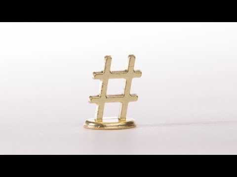 Your next monopoly game piece could be a hashtag