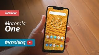 Motorola One - Review Tecnoblog