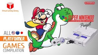 All SNES/Super Nintendo Platform Games Compilation - Every Game (US/EU/JP)
