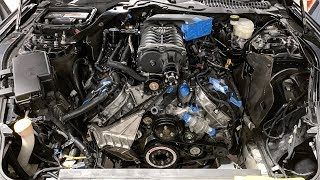 Installing Satan's 1,500hp Coyote Engine!!