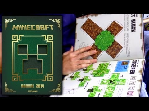 Minecraft Annual 2014 Book Review