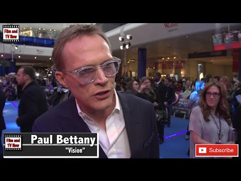 Paul Bettany Captain America European Premiere Interview