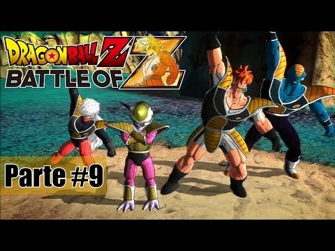 Dragon Ball Z Battle of Z - Jogando com as Transformações do Freeza! - Parte #9