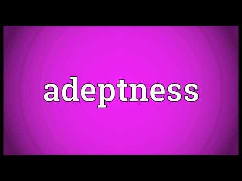 Header of Adeptness