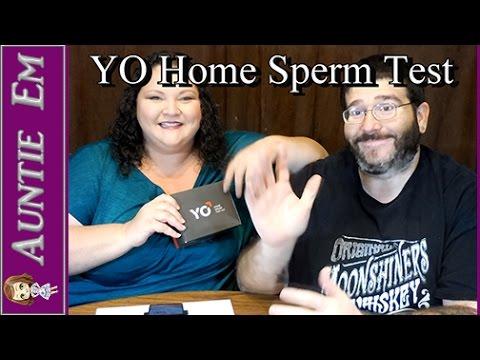 YO Home Sperm Test!!!
