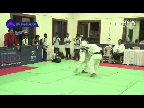 SFA Mumbai 2015 | Judo | Saurabh Yadav Vs Shukla Gautam Prabhakar | Boys | U-14 | 45Kg | SF |