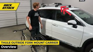 Thule OutRide Roof Top Fork Mount Bike Rack Overview