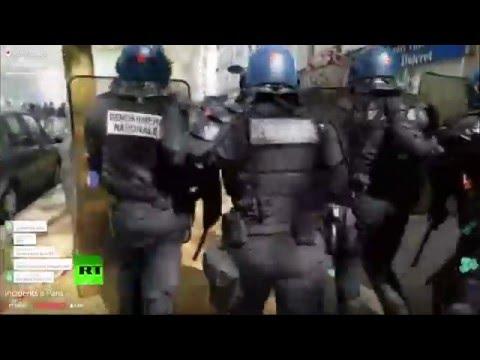 Quatrième vague de mobilisation contre la loi Travail à Paris (Direct du 28.04.16, 2/4)