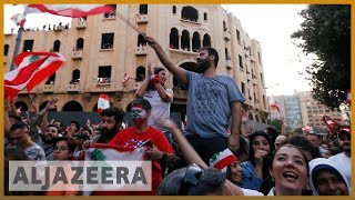 Ministers resign after third day of protests in Lebanon