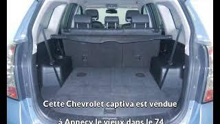 Chevrolet captiva occasion visible à Annecy le vieux présentée par Peugeot annecy
