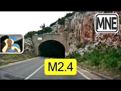 Crna Gora. M2.4. [ Bratica - Bar ]