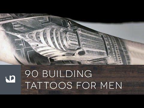90 Building Tattoos For Men
