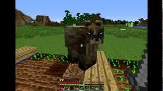 Minecraft Mo'Creatures Mod Survival 3.rész