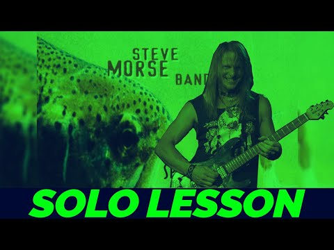 Steve Morse - Mechanical Frenzy [Solo Lesson]