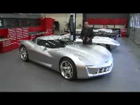 Corvette Stingray Timeline on Corvette Stingray Concept Design