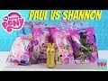 Paul vs Shannon Blind Bag Challenge My Little Pony Movie Edition Toy Review | PSToyReviews