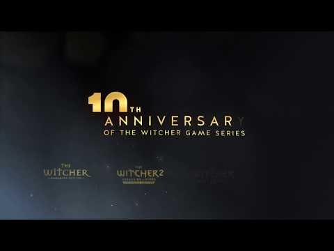 Празднование десятилетия серии игр Ведьмак