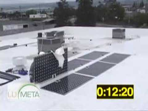 Lumeta: peel & stick solar - 2.25 kw in 34 minutes