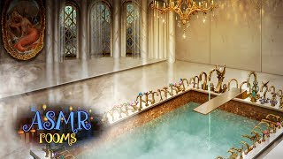 Harry Potter ASMR - Prefects' Bathroom Ambience - Magical Steamy Relaxing soundscape ~water triggers