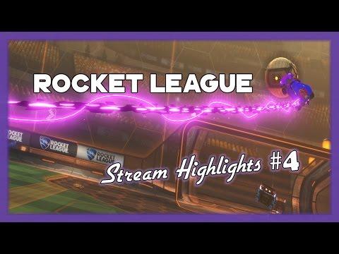 Rocket League - Crazy, Funny, & Epic stream moments #4