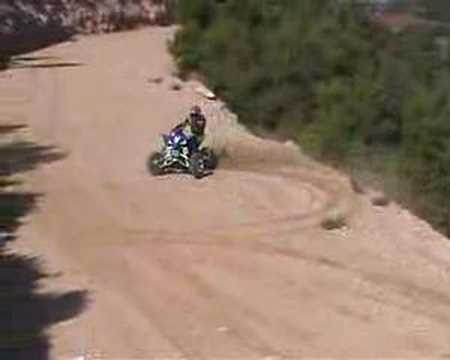 YAMAHA YZF 450 ATV Video