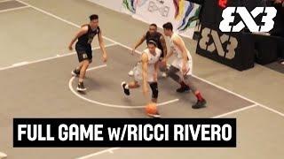 Ricci Rivero + Juan Gómez de Liaño & UP v NU - Full Game - UAAP 81 3x3 Tournament