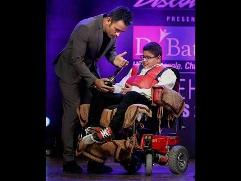 Disability Icon & Child Prodigy Hridayeshwar Singh Bhati won National Award for Disable Hero.