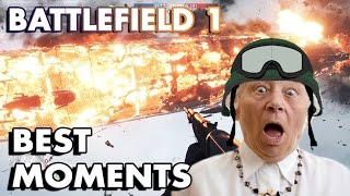 BATTLEFIELD 1 BEST MOMENTS MONTAGE! (Funny Moments, Fails, Epic Plays, Bugs)