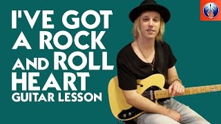 I've Got a Rock and Roll Heart Guitar Lesson - Eric Clapton Song Lesson