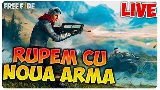 Rupem tot cu NOUA ARMA | Free Fire [LIVE#93]