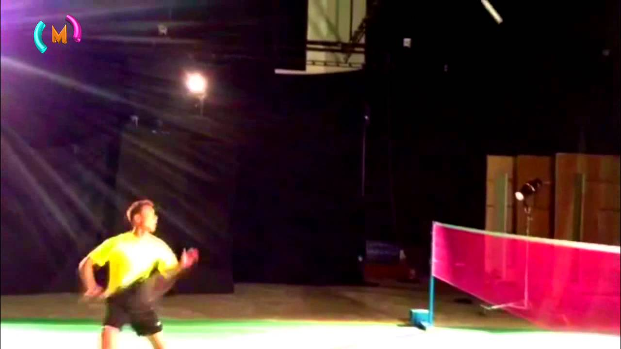Badminton Jumping Smash Wallpaper hd Badminton Jump Smash