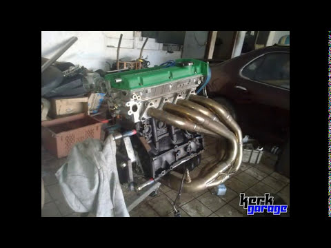 KERK GARAGE 4g93 drag project